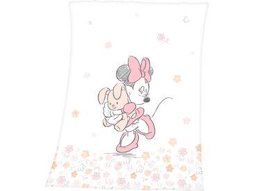 Disney Babydecke »Disney´s Minnie Mouse«, 75x100 cm, weiß