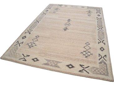 Theko® Wollteppich  »Royal Berber«, 60x90x1.8 cm (BxLxH), 18 mm Gesamthöhe