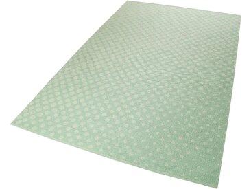Esprit Teppich  »VEL Kelim«, 4 mm Gesamthöhe, grün