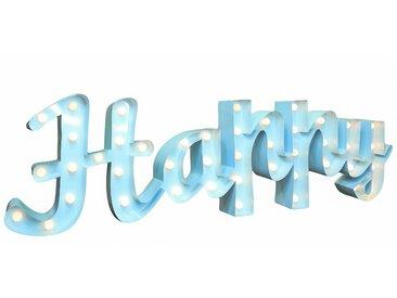 Marquee Lights  LED Dekolicht  »Happy Schriftzug«, 137x38x38 cm (BxLxH), blau