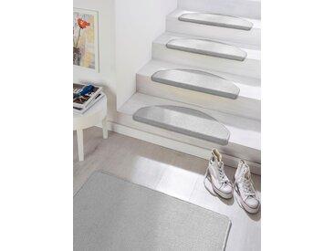 Hanse Home Stufenmatte »Fancy«, 7 mm Gesamthöhe, grau