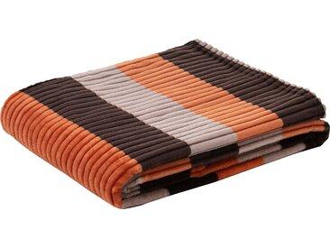 Gözze Wohndecke »Cord New«, orange