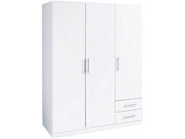 Wimex Eckkleiderschrank »Spectral«, 135x175x58 cm (BxHxT), weiß