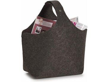 Zeller Present Aufbewahrungskorb, grau