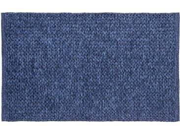 Pad Fußmatte  »Tail«, 70x130 cm, 25 mm Gesamthöhe, blau