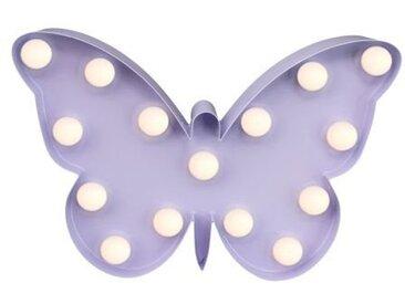 Marquee Lights  LED Dekolicht  »Schmetterling«, 23x15x15 cm (BxLxH), lila
