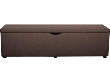 Places Of Style Hockerbank »Standard«, 120x42x40 cm (BxHxT), braun