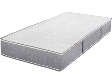 Breckle Taschenfederkernmatratze »TFK 1000 Variant Boxspring Grau«, 80x190 cm, belastbar bis 120 kg, Höhe ca. 25 cm, grau