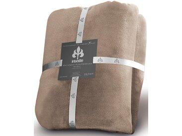 Irisette Wohndecke »Castel 8900«, pflegeleicht, trocknergeeignet, grau, aus 100% Polyester