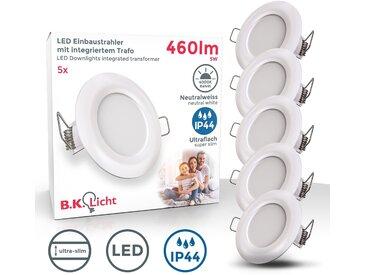 B.k.licht  LED Einbauleuchte, , Höhe 2,5 cm