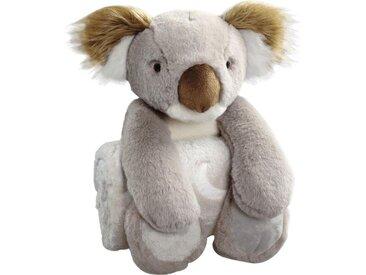 Biederlack Babydecke »Koala«, 75x100 cm, grau
