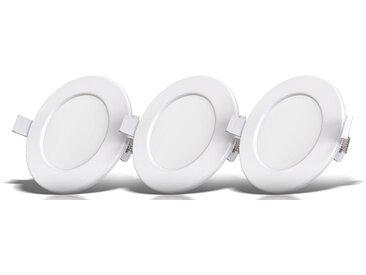 B.k.licht  LED Einbauleuchte, weiß