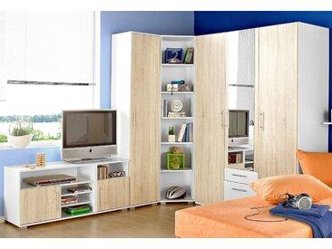 Jugendzimmer-Set, Schlafwelt, beige