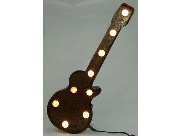 Marquee Lights  LED Dekolicht  »E-Gitarre«, 38x13x13 cm (BxLxH), braun