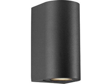 Nordlux LED Außen-Wandleuchte »Asbol«, 6.7x15x9.5 cm (BxHxT)