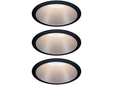 Paulmann  LED Einbauleuchte »3er Set Cole 3x6