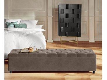 Guido Maria Kretschmer Home&living Bettbank »Relaxy«, 180x41.5x40 cm (BxHxT), pflegeleicht, beige