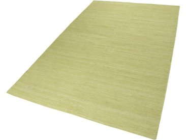 Esprit Teppich  »Rainbow Kelim«, 5 mm Gesamthöhe, grün