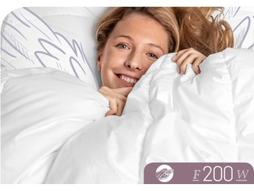 Schlafstil Baumwollbettdecke »F200«, 135x200 cm (BxL)