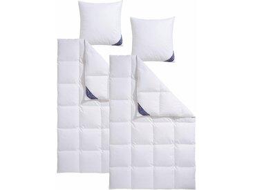 Excellent Daunenbettdecke + Kopfkissen »Zürich«, 2x 155x220 cm + 2x 80x80 cm, weiß