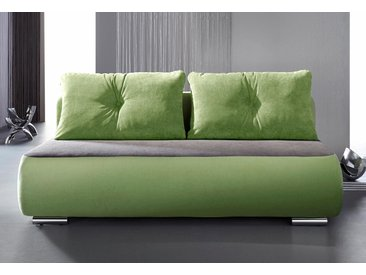 Inosign Schlafsofa »Fun«, 193x72x93 cm (BxHxT), inkl. Bettfunktion, grün