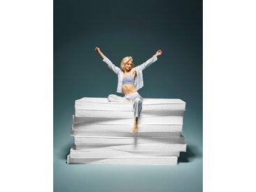 Breckle Komfortschaummatratze  »Actor«, 90x200 cm, Härtegrad 2, 0-80 kg, Höhe ca. 13 cm, weiß