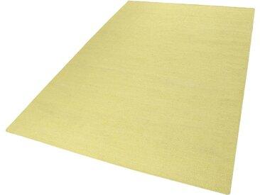 Esprit Teppich  »Rainbow Kelim«, 5 mm Gesamthöhe, gelb