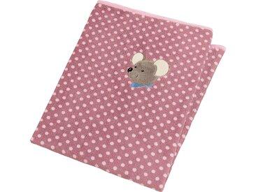Sterntaler® Babydecke »Mabel«, 75x100 cm, rosa