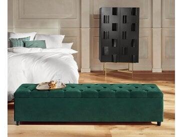 Guido Maria Kretschmer Home&living Bettbank »Relaxy«, pflegeleicht, grün