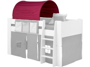 Steens  Betttunnel  »FOR KIDS«, 88x92x69 cm (BxLxH), rosa