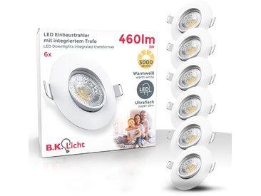 B.k.licht  LED Einbauleuchte, , Höhe 2,4 cm