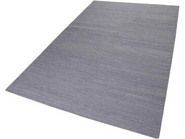 Esprit Teppich  »Rainbow Kelim«, 5 mm Gesamthöhe, grau
