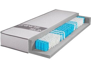 Breckle Taschenfederkernmatratze »Smartsleep 6000«, 120x200 cm, belastbar bis 120 kg, Höhe ca. 23 cm, weiß