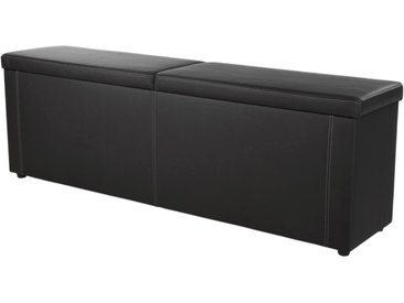 Jockenhöfer Gruppe Bettbank, 184x62x45 cm (BxHxT), schwarz