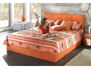 Westfalia Schlafkomfort Tagesdecke, orange