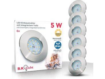 B.k.licht  LED Einbauleuchte, , Höhe 3 cm