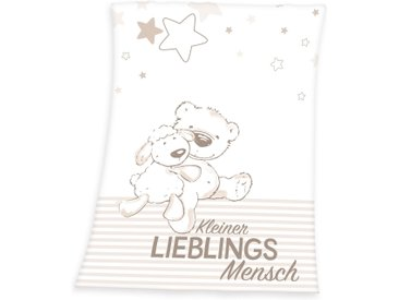 Herding Babydecke »Kleiner Lieblingsmensch«, 75x100 cm (BxL)