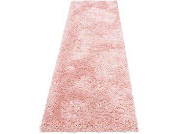 My Home Hochflor-Läufer »Boldo«, 67x230x5 cm (BxLxH), rosa