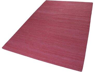 Esprit Teppich  »Rainbow Kelim«, 5 mm Gesamthöhe, rosa