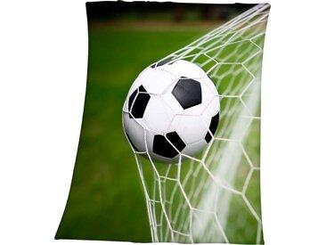 Herding Young Collection Kinderdecke »Fußball im Netz«