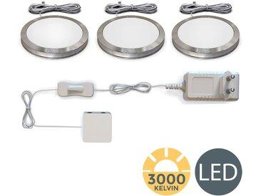 B.k.licht  LED Unterbauleuchte, , Höhe 0,95 cm