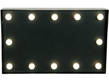 Marquee Lights  LED Dekolicht  »Blackboard Schwarzes Brett«, 31x19x19 cm (BxLxH)