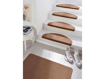 Hanse Home Stufenmatte »Fancy«, 7 mm Gesamthöhe, braun