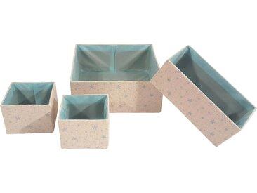 Franz Müller Flechtwaren  Aufbewahrungsbox  (Set »Kids«, 13.5x10x13.5 cm|13,5 (BxHxT), blau