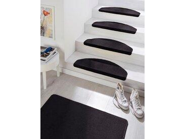 Hanse Home Stufenmatte »Fancy«, 7 mm Gesamthöhe, schwarz