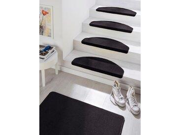 Hanse Home Stufenmatte  »Fancy«, 23x65x0.7 cm (BxLxH), 7 mm Gesamthöhe, schwarz