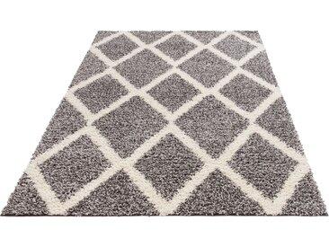 My Home Hochflor-Teppich  »Linz«, 60x90x3.1 cm (BxLxH), grau