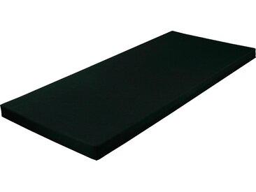 Breckle Jugendmatratze, 70x190 cm, Härtegrad 2, 0-65 kg, Höhe ca. 9 cm, schwarz