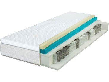 Breckle Taschenfederkernmatratze  »EvoX Perfect TFK 500«, 90x200 cm, belastbar bis 120 kg, Höhe ca. 27 cm, weiß