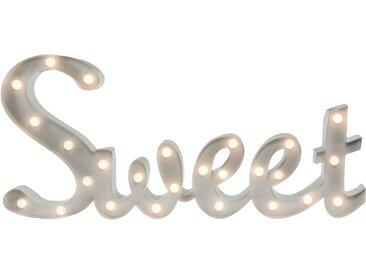 Marquee Lights  LED Dekolicht  »Sweet Schriftzug«, 57x31x31 cm (BxLxH), weiß